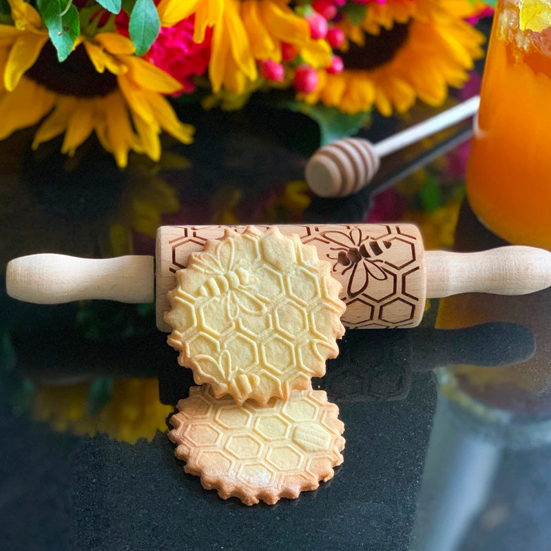 HONEYCOMB KIDS ROLLING PIN - pastrymade