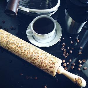 COFFEE ROLLING PIN - pastrymade