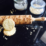 COLLIE ROLLING PIN - pastrymade