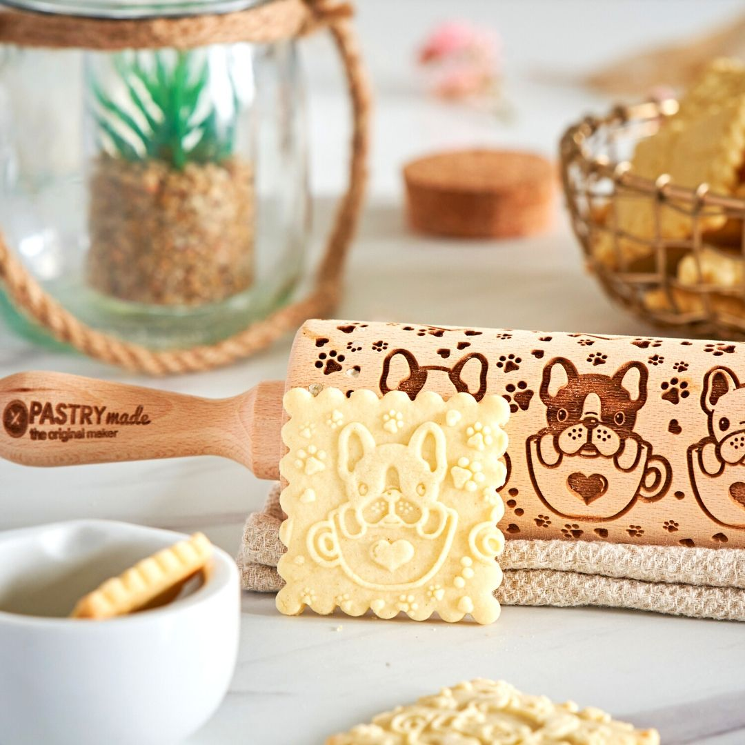FRENCHIE BULLDOG ROLLING PIN