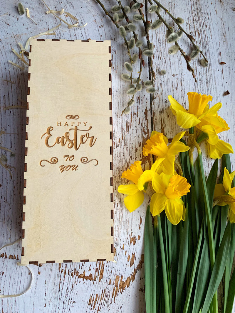 HAPPY EASTER BOX ROLLING PIN - pastrymade