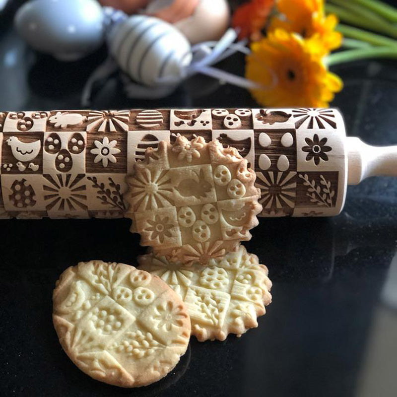 FUNNY EASTER ROLLING PIN