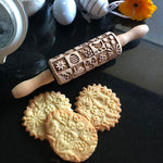 EASTER SQUARES KIDS ROLLING PIN - pastrymade