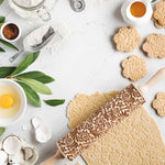 FLORES ROLLING PIN - pastrymade