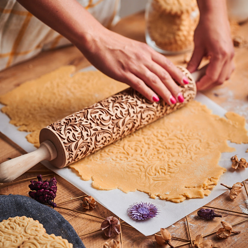 FOREST ROLLING PIN - pastrymade