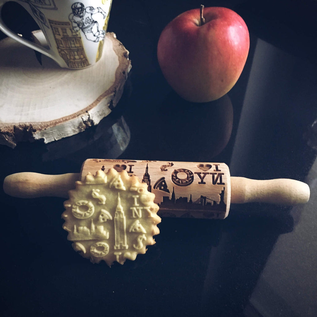 NEW YORK KIDS ROLLING PIN - pastrymade