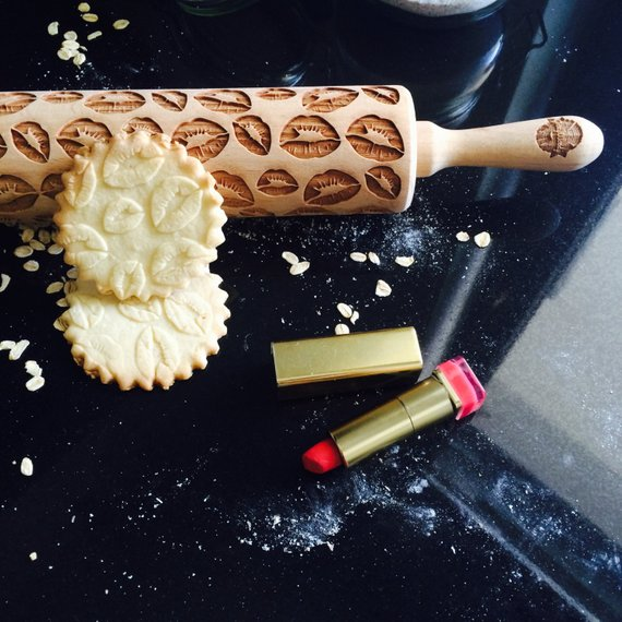 LIPS ROLLING PIN - pastrymade