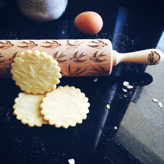 SWALLOWS ROLLING PIN - pastrymade