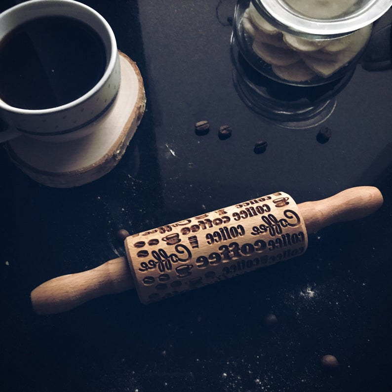 COFFEE KIDS ROLLING PIN - pastrymade