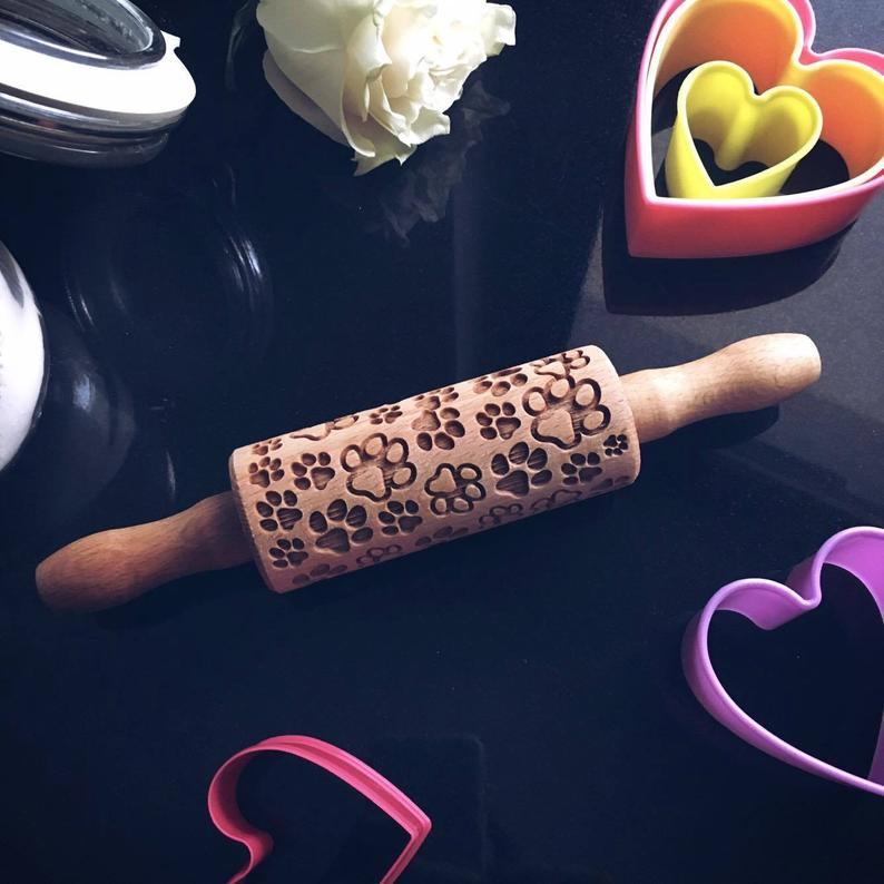 PAWS KIDS ROLLING PIN - pastrymade