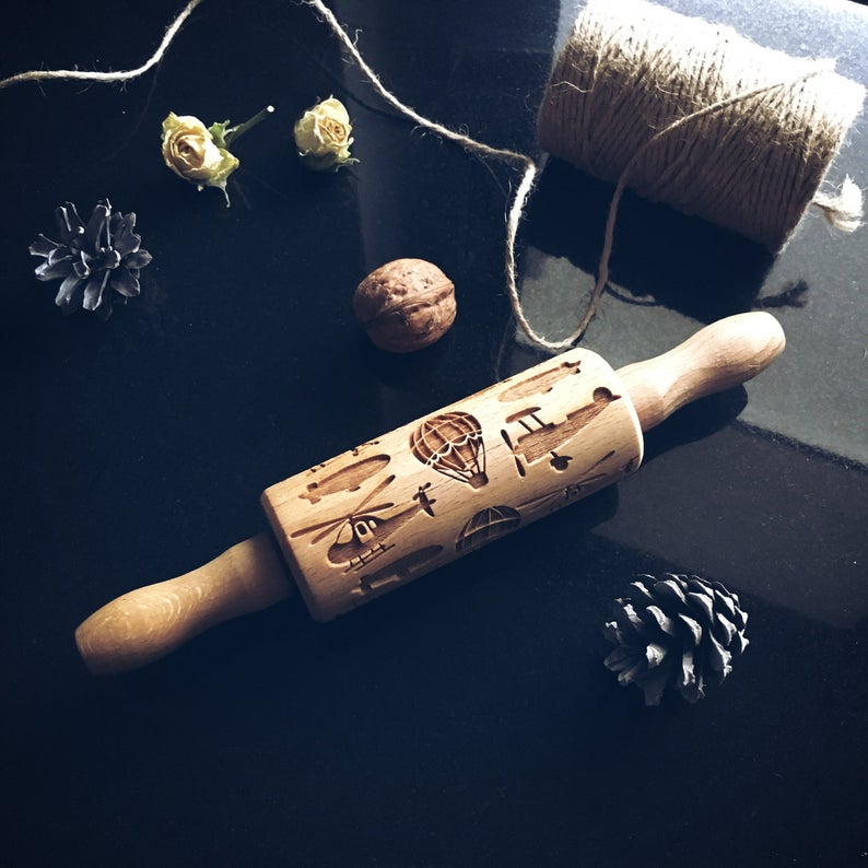 AIR THEME KIDS ROLLING PIN - pastrymade
