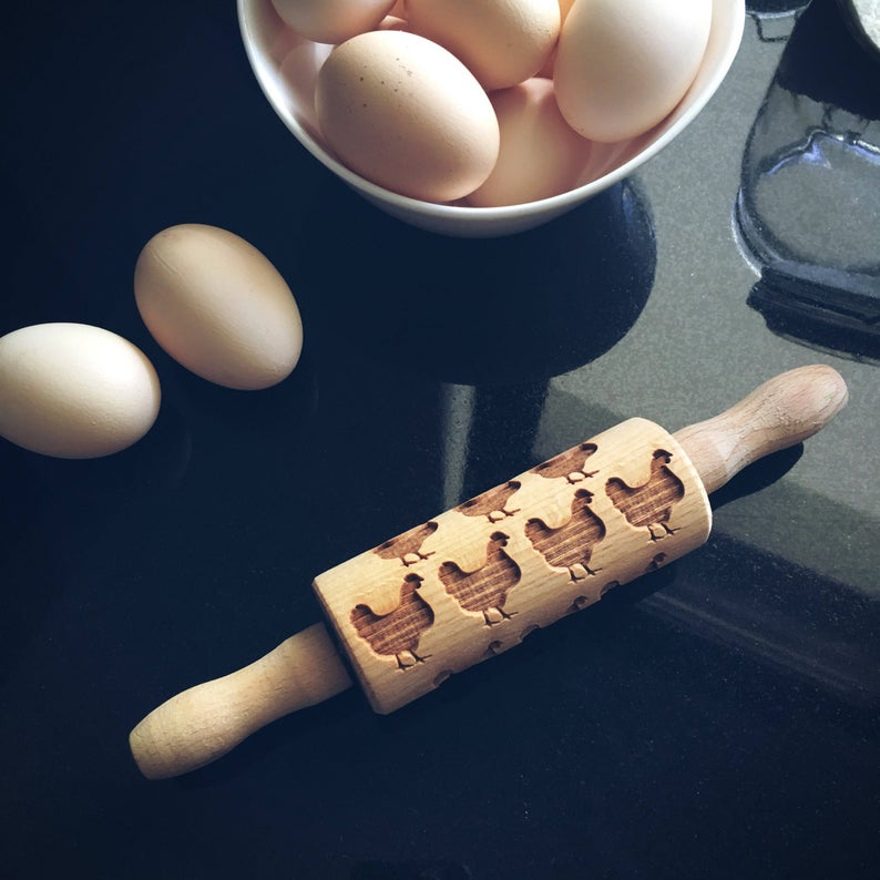 CHICKEN KIDS ROLLING PIN - pastrymade