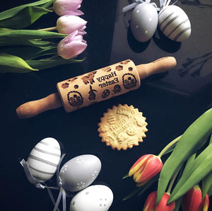 EASTER KIDS ROLLING PIN - pastrymade