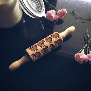 SHEEP KIDS ROLLING PIN - pastrymade
