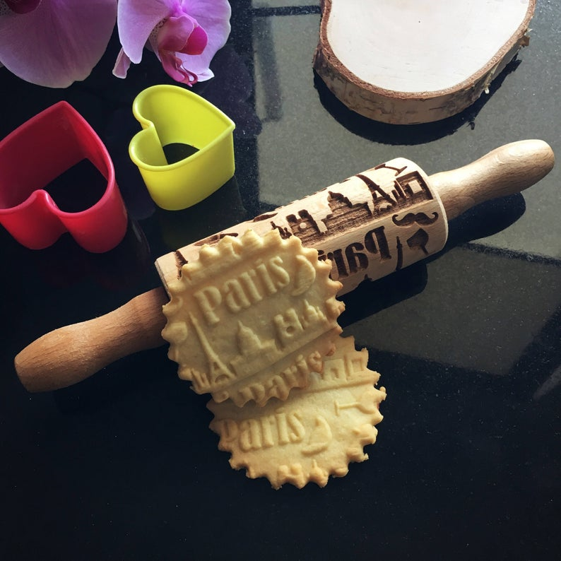 PARIS KIDS ROLLING PIN - pastrymade