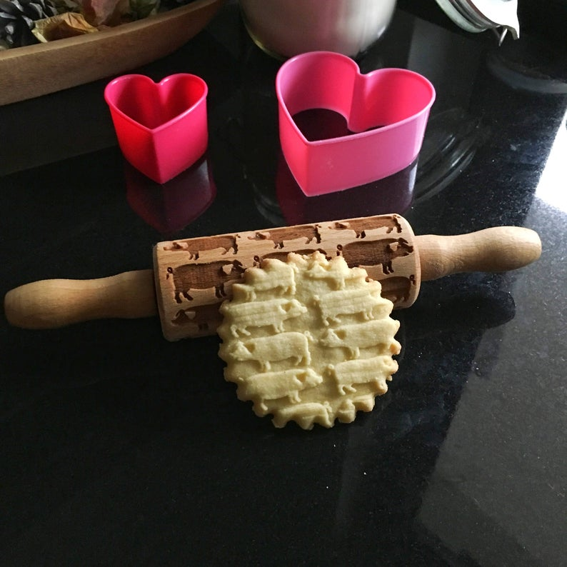 PIGS KIDS ROLLING PIN - pastrymade