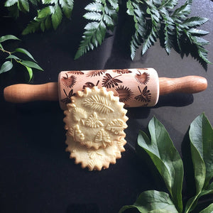 TROPICAL LEAVES KIDS ROLLING PIN - pastrymade