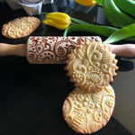 NEW EASTER EGGS KIDS ROLLING PIN - pastrymade
