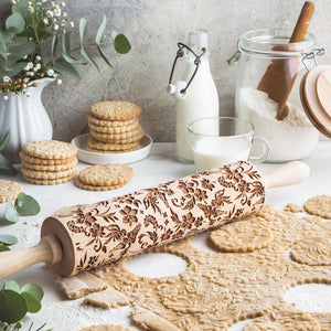 PEACOCK ROLLING PIN - pastrymade