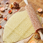 SNOWY WINTER ROLLING PIN - pastrymade