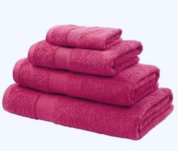 Egyptian Cotton 550g Towels in 7 Colours - 4 Sizes
