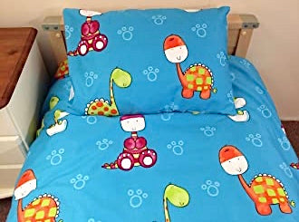 Sleeptight - Dinosaurs, Duvet set 90cms