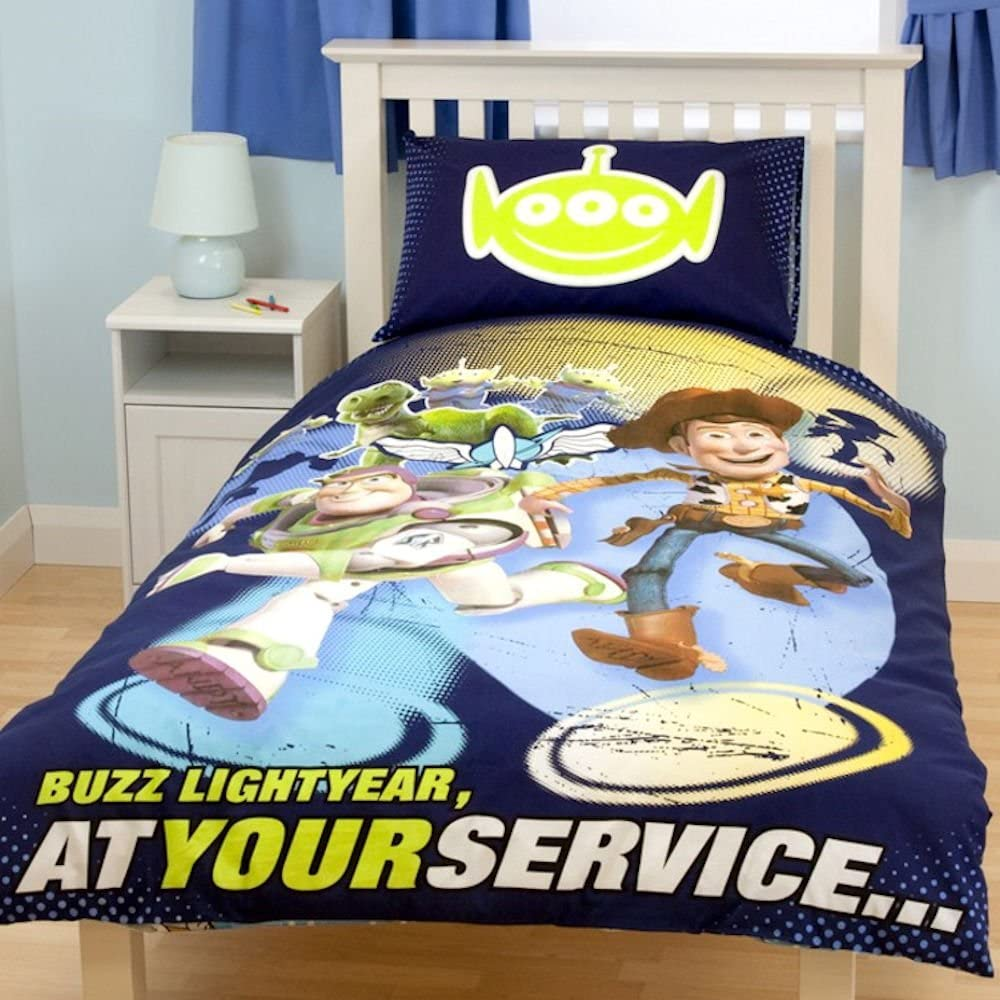 Toy Story 'Space' - Reversible Duvet set & Curtains