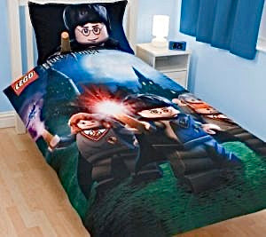 Harry Potter, Lego - Duvet set, 90cms