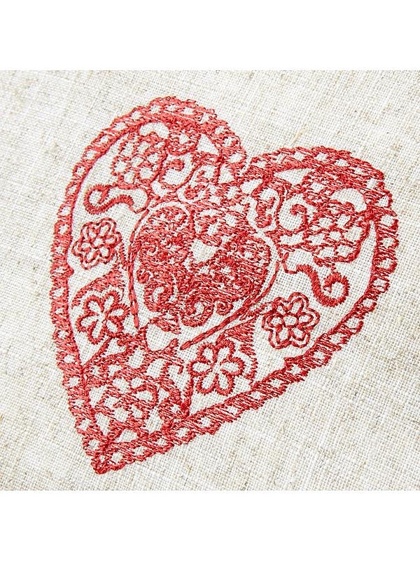 Vintage Hearts - Cushion Cover