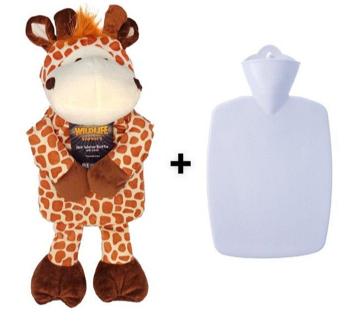 Hot Water Bottles with Cover, Giraffe