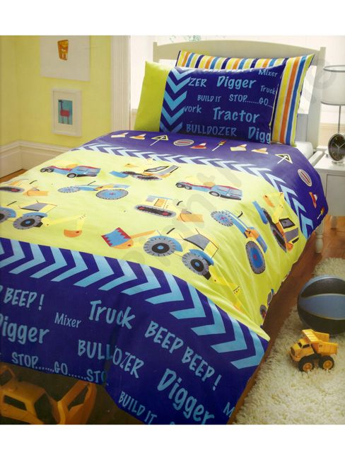 Kids, Club - Diggers, Duvet set