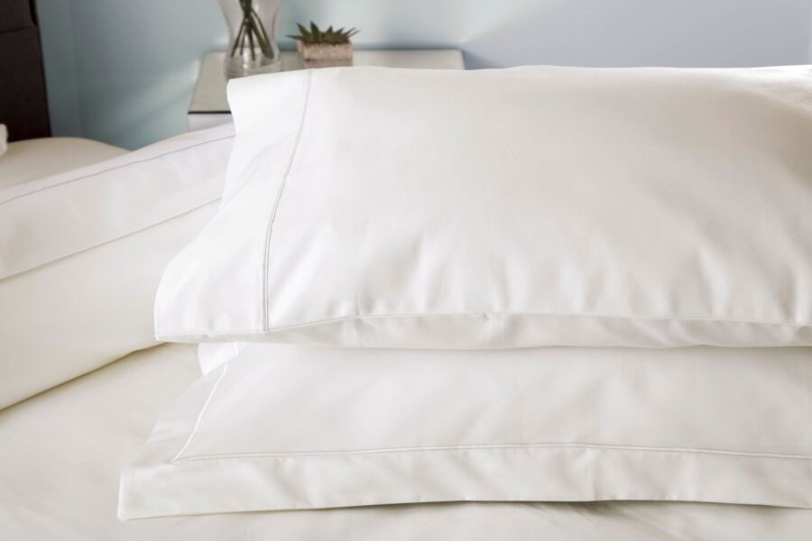Belledorm Egyptian Cotton 1000 Thread Count Pillowcase Pair, Ivory