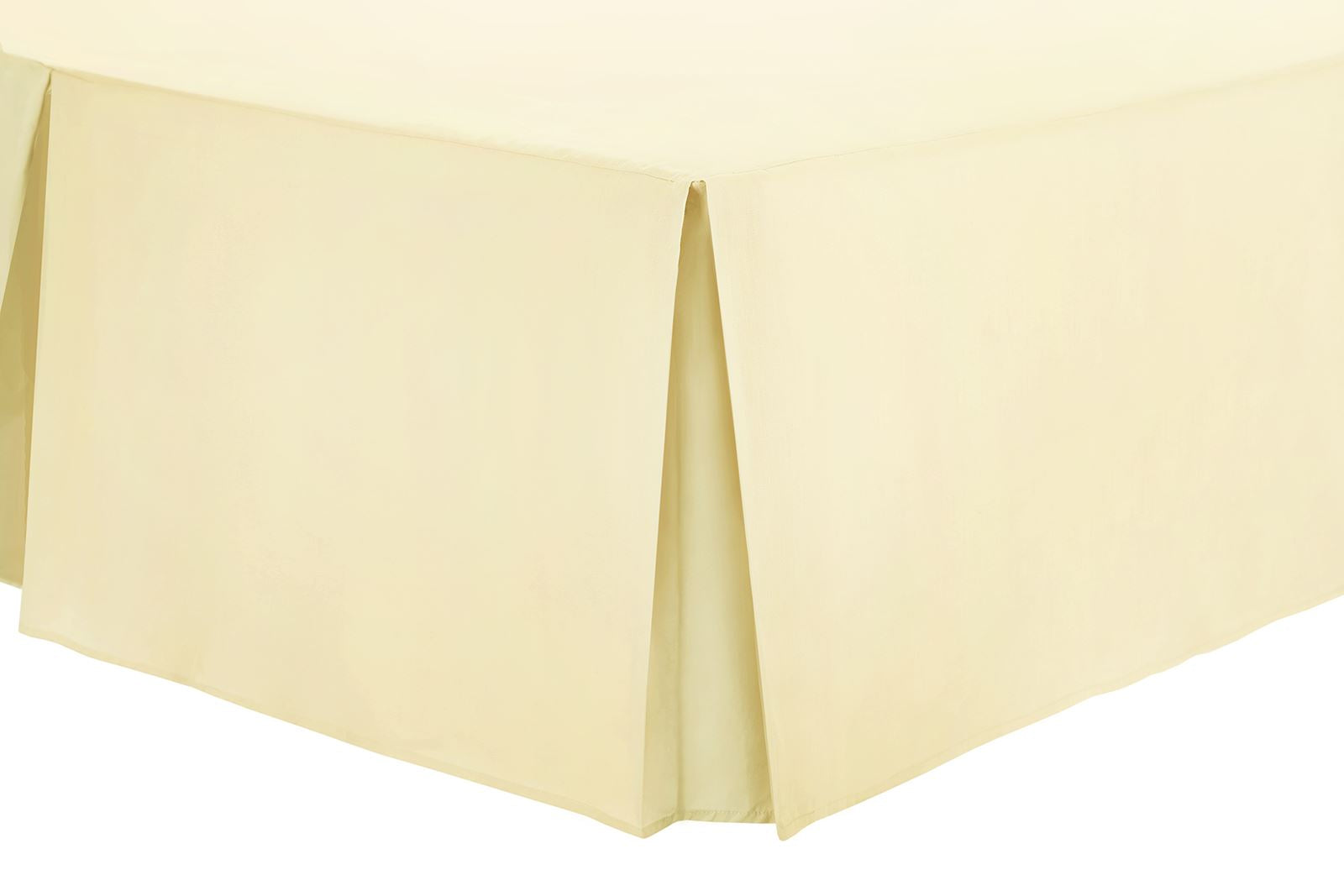 Belledorm, 150 Thread Box Pleated Platform Valance Sheets, 4 Sizes