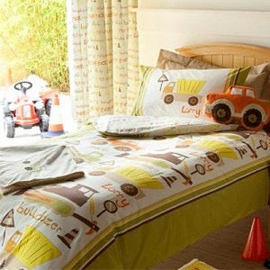Trucks Duvet set & Curtains