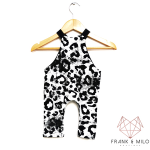 Mono Leopard Dungarees