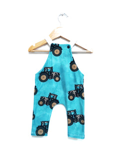 Leopard Tractor Dungarees