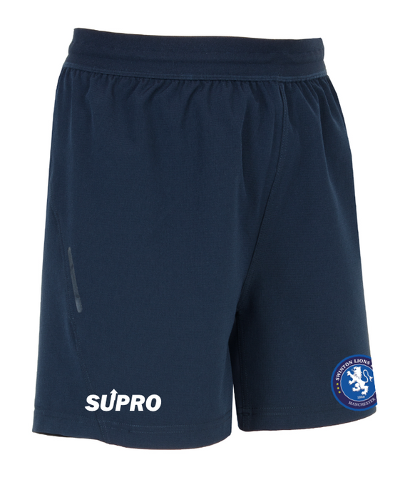 SUPRO 2020 TEAM TRAINING RUGBY SHORTS- NAVY - YOUTH