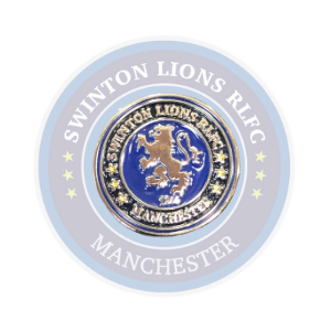 SWINTON LIONS ENAMEL CREST BADGE