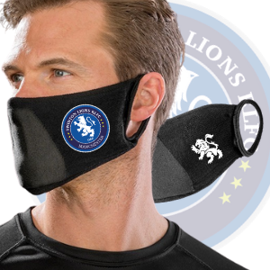SWINTON LIONS FACE MASKS - 2 PACK