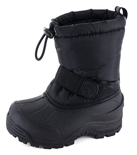 Northside Frosty Winter Boot (Toddler/Little Kid/Big Kid),Black,9 M US Toddler