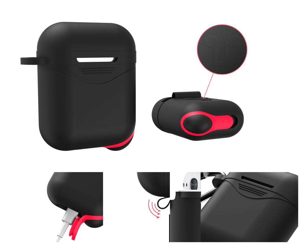 Silicone Protective Airpods Case Cover - Moweek Official