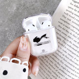 Transparent Protector case cover for Airpods - Moweek Official