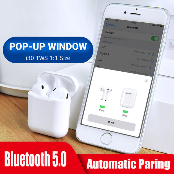 I30 tws Pop-up Wireless Earbubs