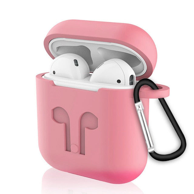 Soft Silicone Case For Apple Airpods - Moweek Official