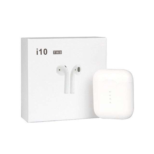 i10 TWS Double Mini Airpod Wireless Earbuds - Official