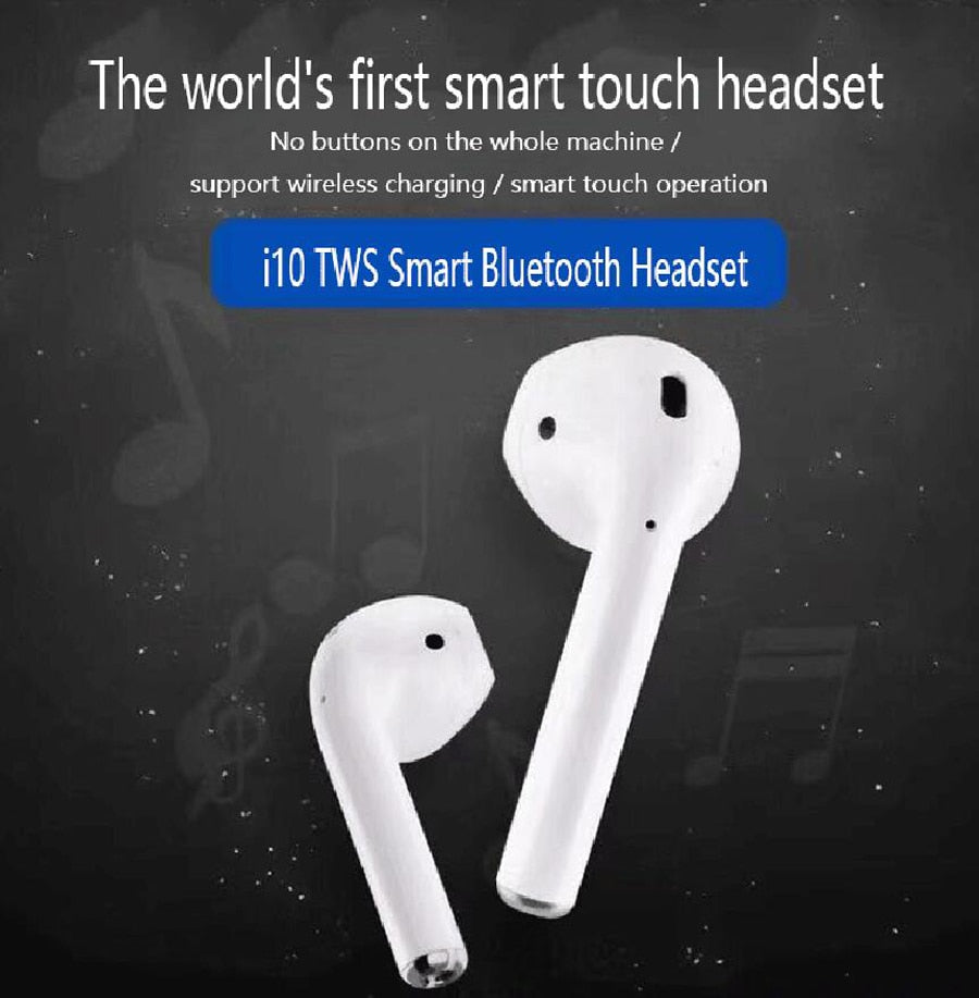 i10 TWS Double Mini Wireless Earbuds - Moweek Official