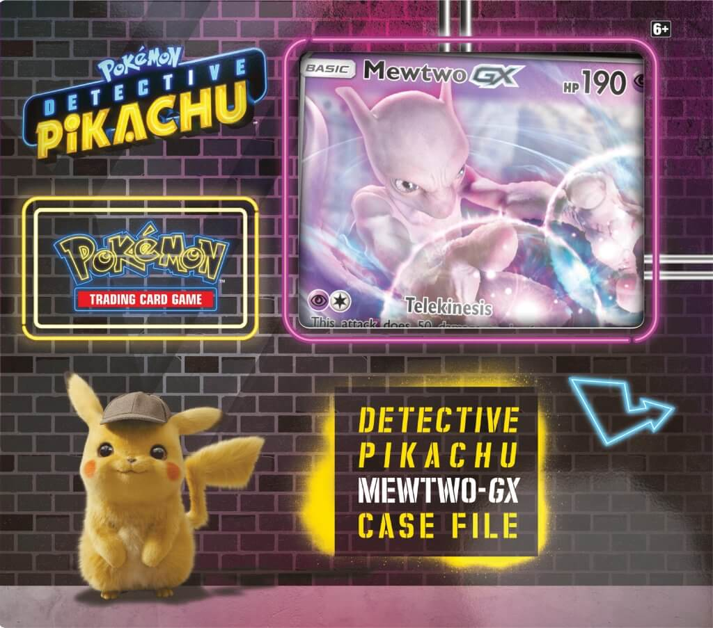 Pokemon Tcg Detective Pikachu Mewtwo Gx Case File Angel Grove
