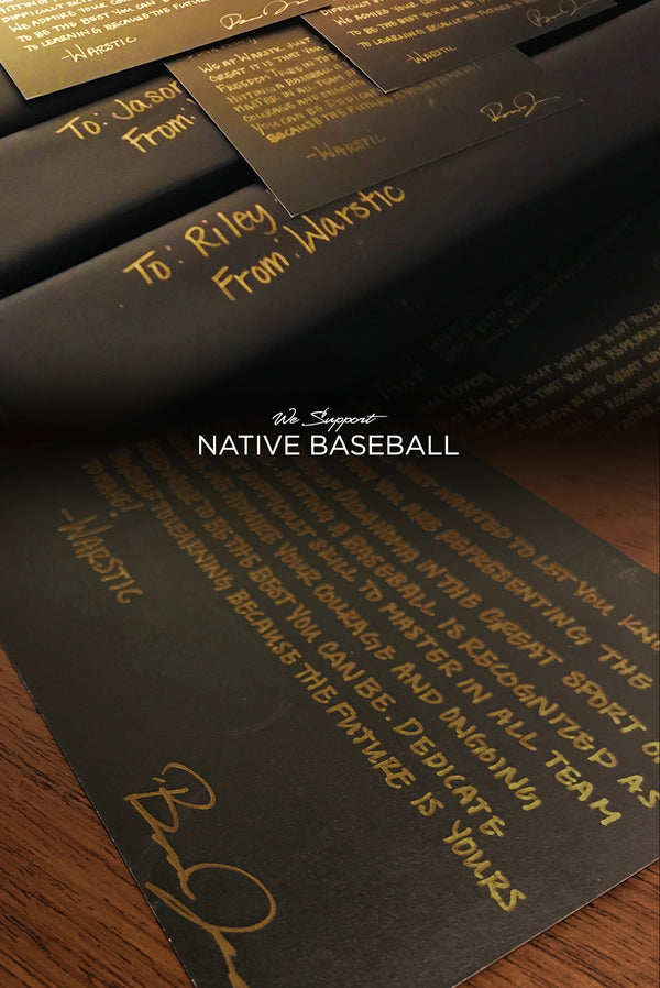 Warstic Supports Native American Youth Baseball