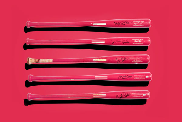 Breast Cancer Awareness Pro Bat Auction.