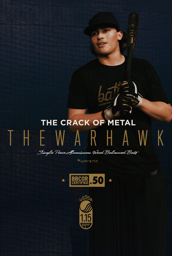 The Crack of Metal: The Warhawk Single Piece Aluminum Wood-Balanced Bat
